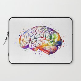 Brain Art Human Brain Anatomy Art Brain Watercolor Anatomy Decor Anatomical Brain Medical Art Laptop Sleeve
