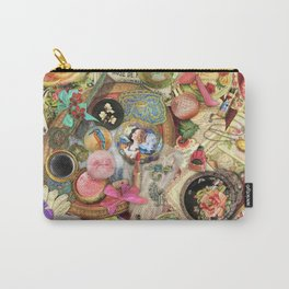 Vintage Vanity Carry-All Pouch