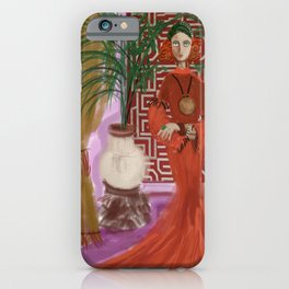 """""""MARUSHKA, HOME ON TUESDAY EVENING"""" iPhone Case"""
