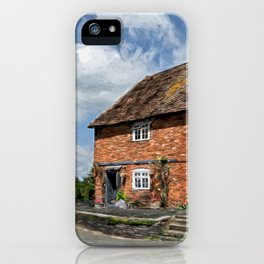 Old Cottages In Tewkesbury iPhone Case