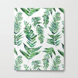 Jungle Ferns Metal Print