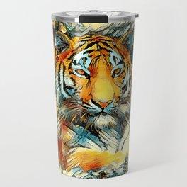 AnimalArt_Tiger_20171202_by_JAMColorsSpecial Travel Mug