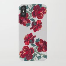 Red Roses iPhone X Slim Case
