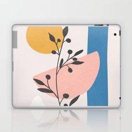 Blush Pink Shapes 01 Laptop & iPad Skin