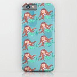 Peaceful Mermaid iPhone Case