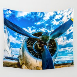 Aviation forever Wall Tapestry