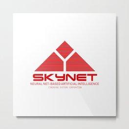 Skynet Metal Print