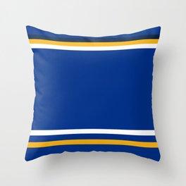 St. Louis Hocky Throw Pillow