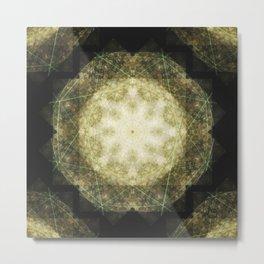 Elysium Mandala Metal Print