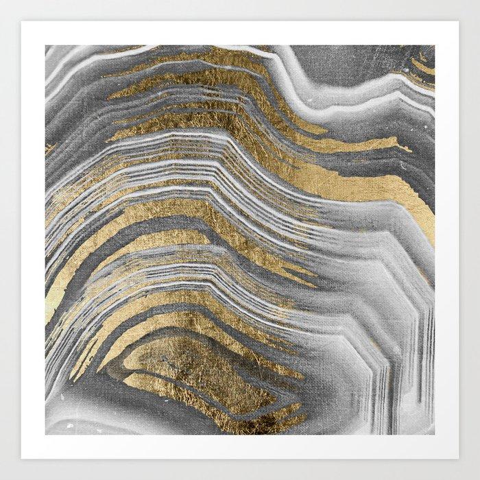 Abstract paint modern Kunstdrucke