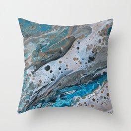 Ocean & Earth 3 Throw Pillow