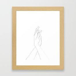 amour Gerahmter Kunstdruck