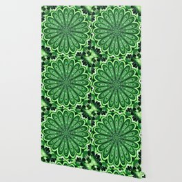 Mystery Green Puzzle Wallpaper