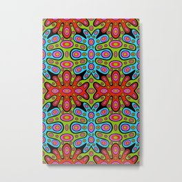 Hip, Hippie Hooray! Metal Print