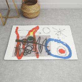 Joan Miro - Peintures Sur Cartons II Rug