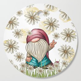 Hippie Gnome Cutting Board