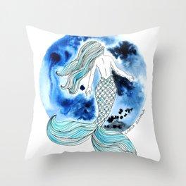 Sirena Luna Throw Pillow