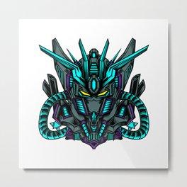 Prime Gundam Metal Print