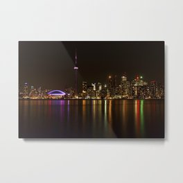 Toronto Night Metal Print