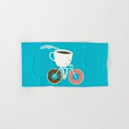 Coffee and Donuts Hand & Bath Towel