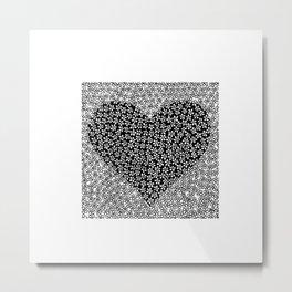 Flower love Metal Print