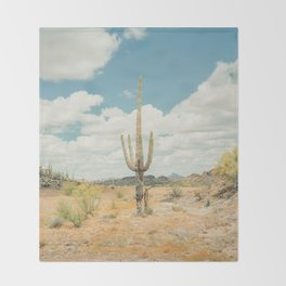 Old West Arizona Throw Blanket