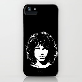 PORTRAIT OF A MUSICAL GENIUS FROM THE 27 CLUB iPhone Case