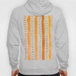 Watercolor lines - light orange Hoody