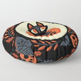 Happy Halloween Floor Pillow