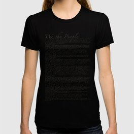 US Constitution - United States Bill of Rights T-shirt