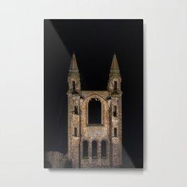 St Andrews Cathedral at night Metal Print