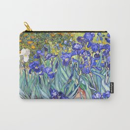 Vincent Van Gogh Irises Carry-All Pouch