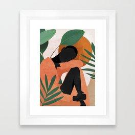 Tropical Girl 10 Framed Art Print