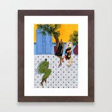 Mara Hoffman Fall 17 Framed Art Print