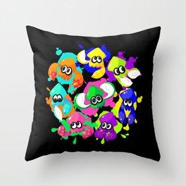 Splatoon - Inkling Squad Throw Pillow