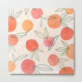 Tropical Fruit Blend Metal Print