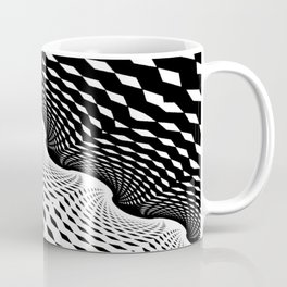 Black & White Fractal Art Print / Home Decor Coffee Mug