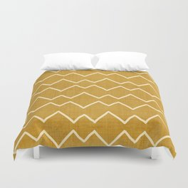 Urbana in Gold Duvet Cover