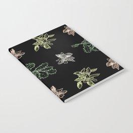 Quercus (black) Notebook