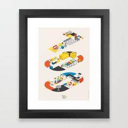 Bauhaus 100 Framed Art Print