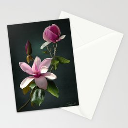 Spade's Pink Magnolias Stationery Cards