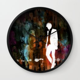 The invisible man... Wall Clock