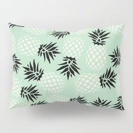 Mint Pineapple Pattern 023 Pillow Sham