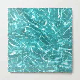 Abstract Water Design Metal Print