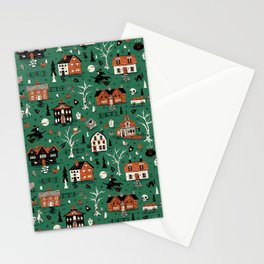 Salem Witches Stationery Cards