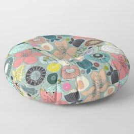 oriental blooms Floor Pillow