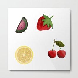 Fruit BABY Metal Print