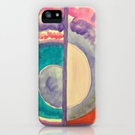 Life in Watercolor iPhone Case