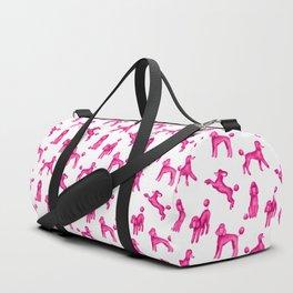 Pink Poodles Duffle Bag