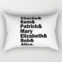 The perks of being a wallflower squad. Rectangular Pillow